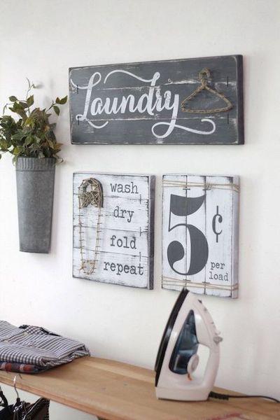 abbellire lavanderia piccola