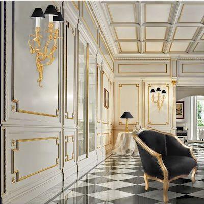 applique pareti barocche