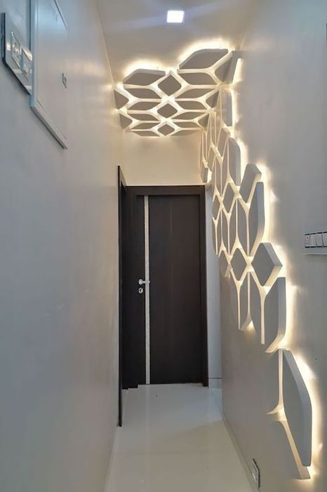 applique pareti corridoio