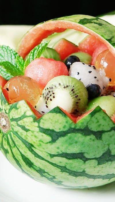cesto di anguria