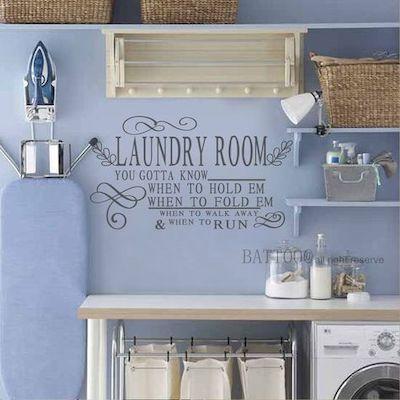 decorare lavanderia piccola