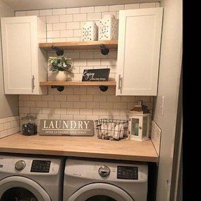 decorazioni lavanderia piccola