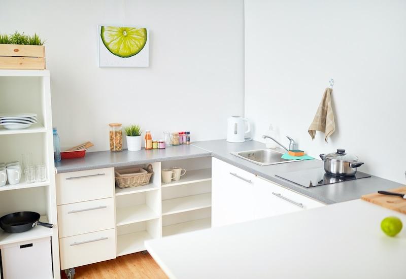 Cucina Piccola Come Organizzare Gli Spazi Verde Pisello
