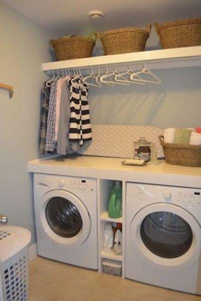 organizzare lavanderia piccola