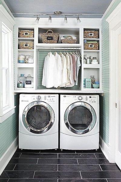 organizzazione lavanderia piccola