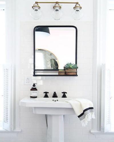 specchio bagno cieco