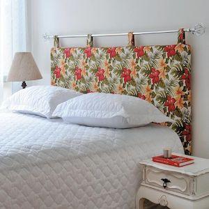 testiera letto cuscini