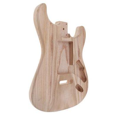 chitarra elettrica legno