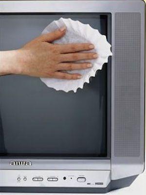 come pulire schermo tubo catodico