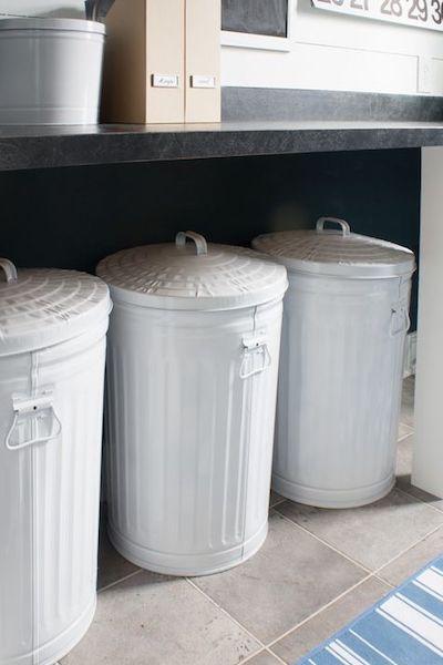 contenitori differenziata metallo