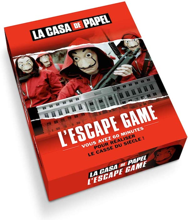 escape game la casa di carta