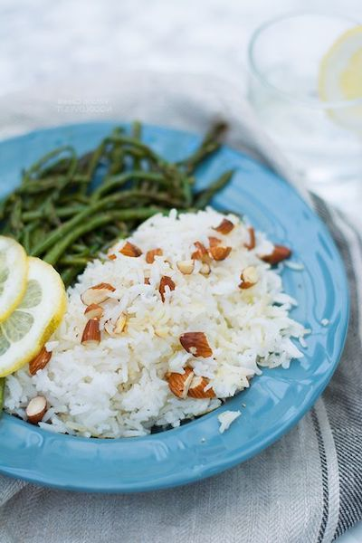 riso basmati verdure frutta secca