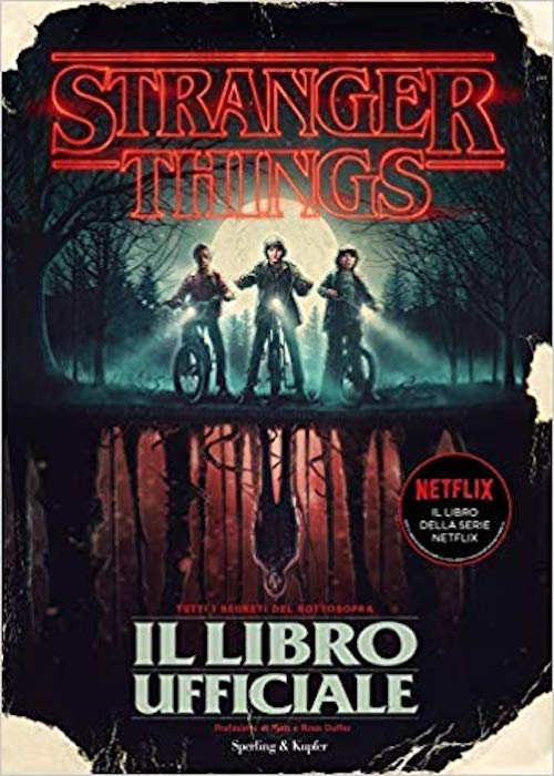 stranger things libro ufficiale