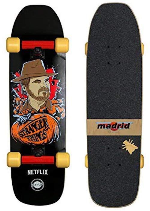 stranger things skateboard madrid