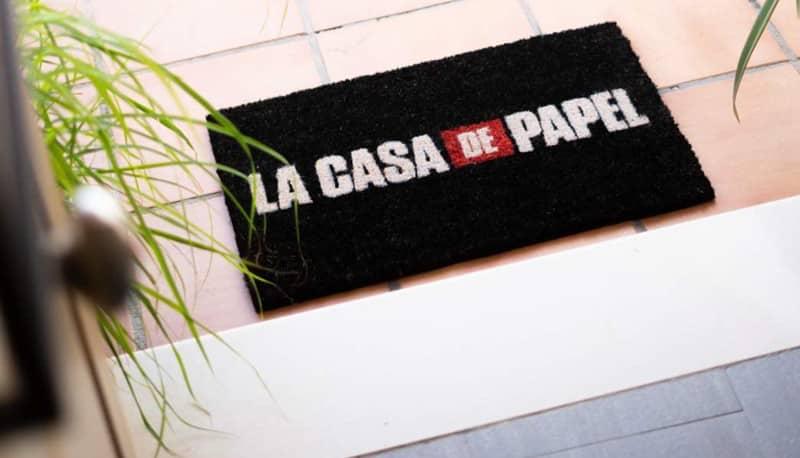 tappeto casa di carta