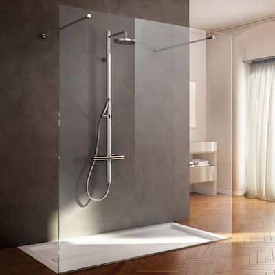 box doccia centro parete bagno