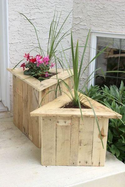 fioriera legno dimensioni giardino