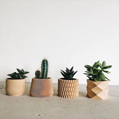 fioriere legno appartamento