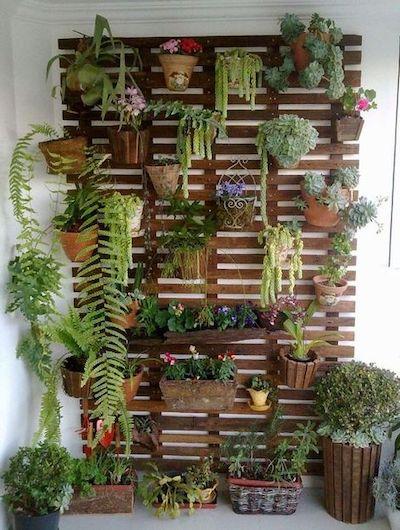 fioriere legno rampicante balcone