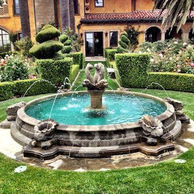fontana esterni marmo
