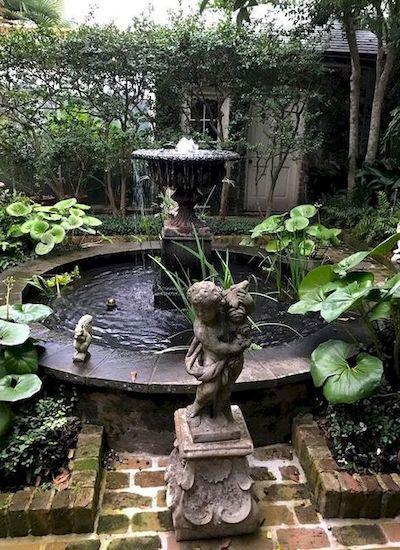 fontana ghisa giardino