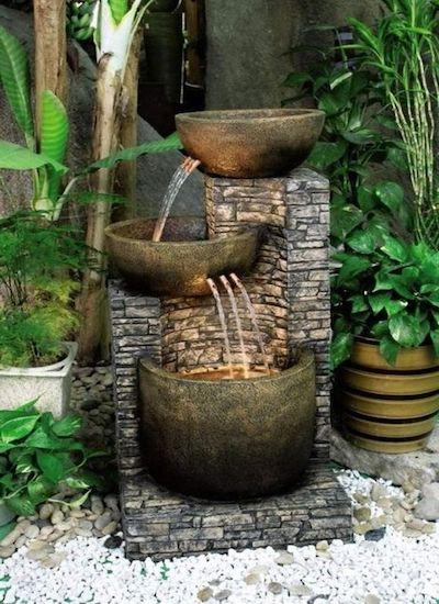 fontana giardino ghisa