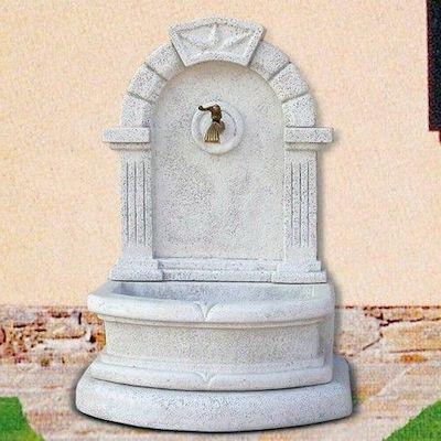 fontana giardino marmo