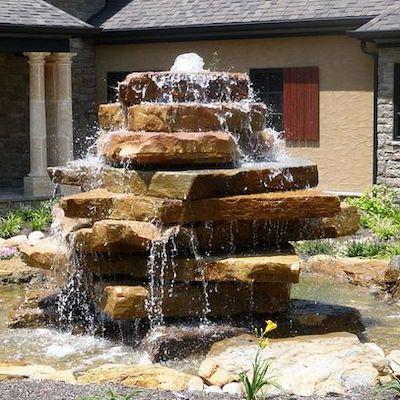 fontana marmo giardino