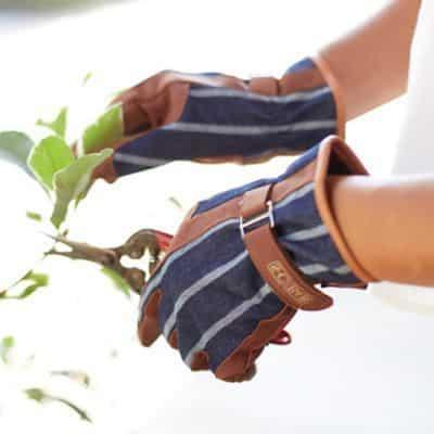 guanti giardino cotone