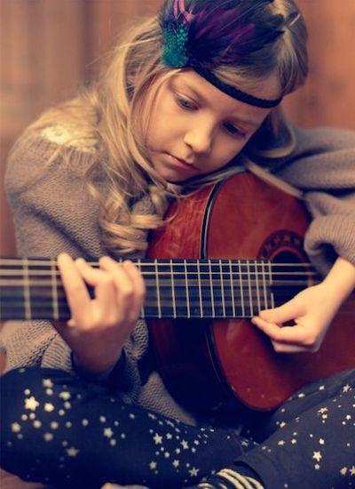 indicazioni chitarra bambini