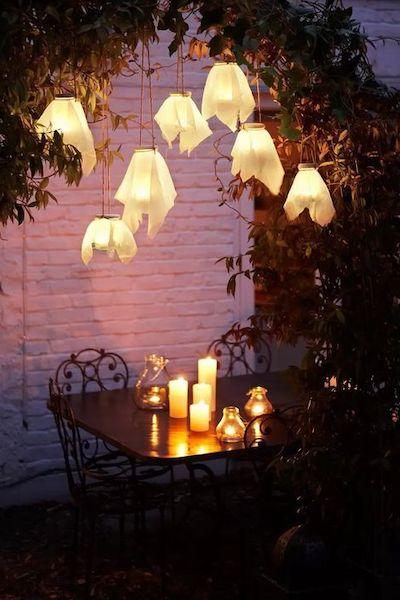 lanterne fai da te esterni