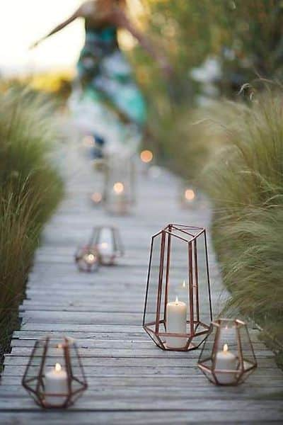 lanterne ferro battuto giardino