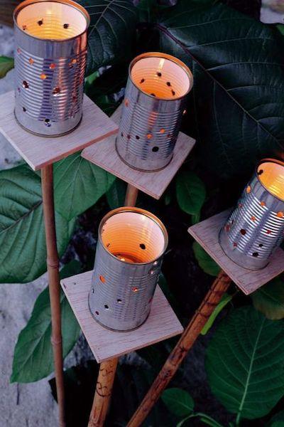 lanterne giardino fai da te