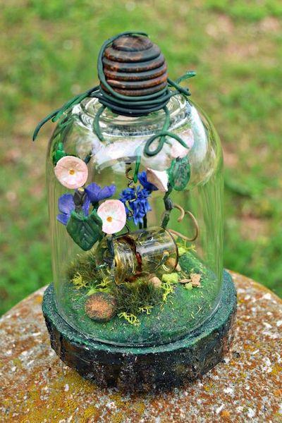lanterne giardino vetro