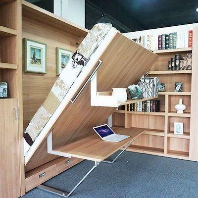 letto scomparsa scrivania