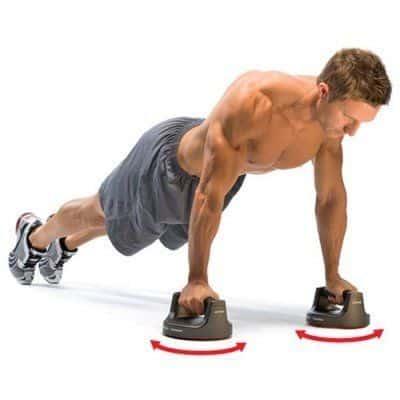 push up bar aderenza