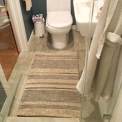 tappeti fibra bagno