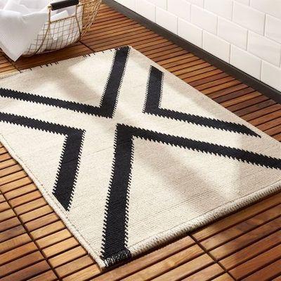 tappeto bagno design