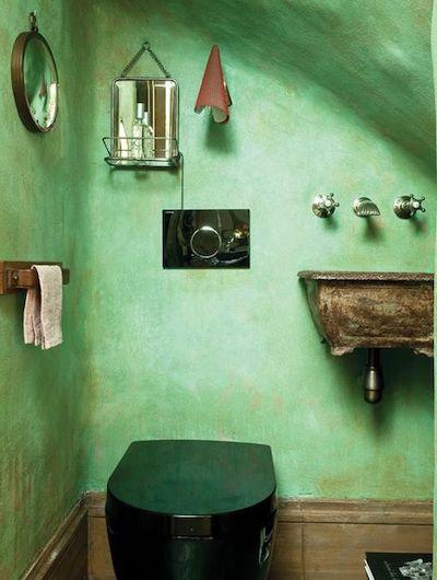 bagno pareti vernice