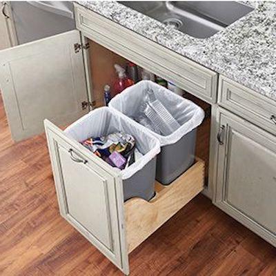 contenitori a scomparsa cucina