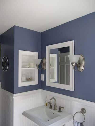 pareti vernice bagno