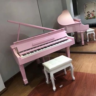 pianoforte digitale rosa