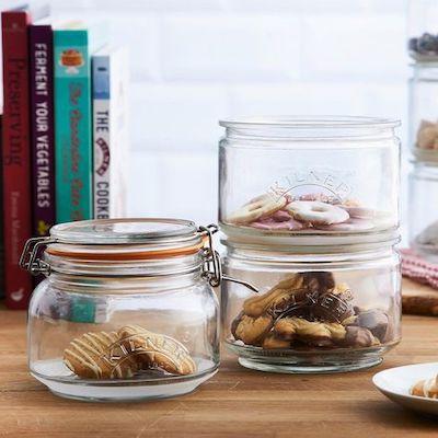 contenitori trasparenti alimenti cucina