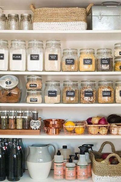 etichette contenitori cucina