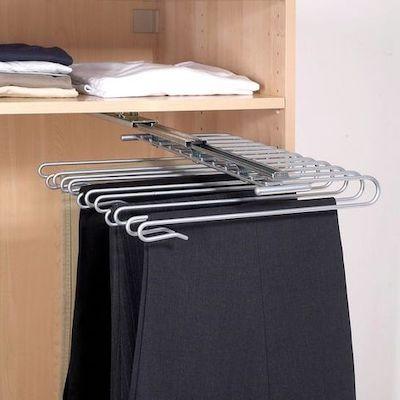 organizer pantaloni armadio