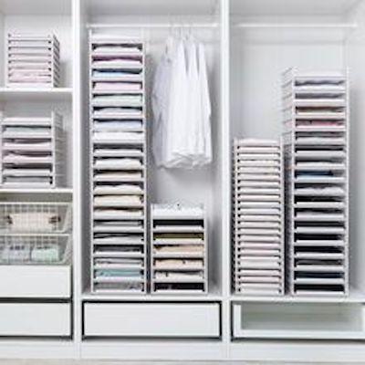 organizer ripiani armadio