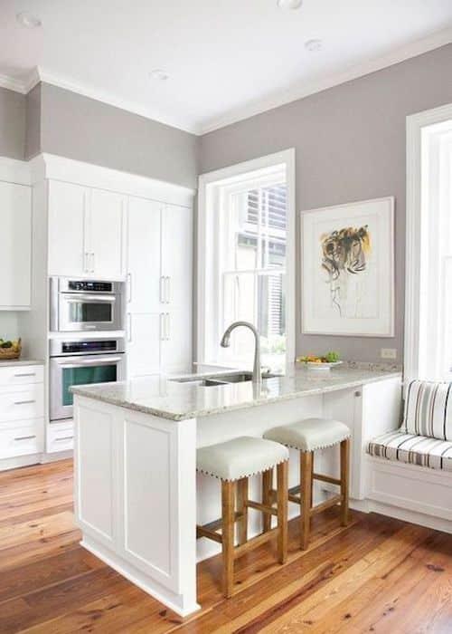 cucina piccola colore pareti