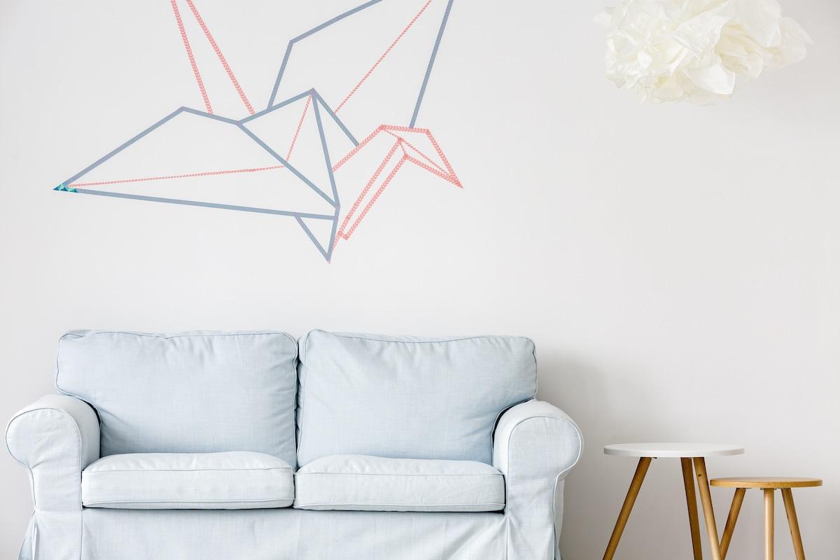 decorare casa washi tape