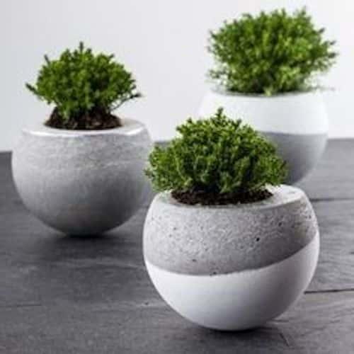 fioriere cemento piccole
