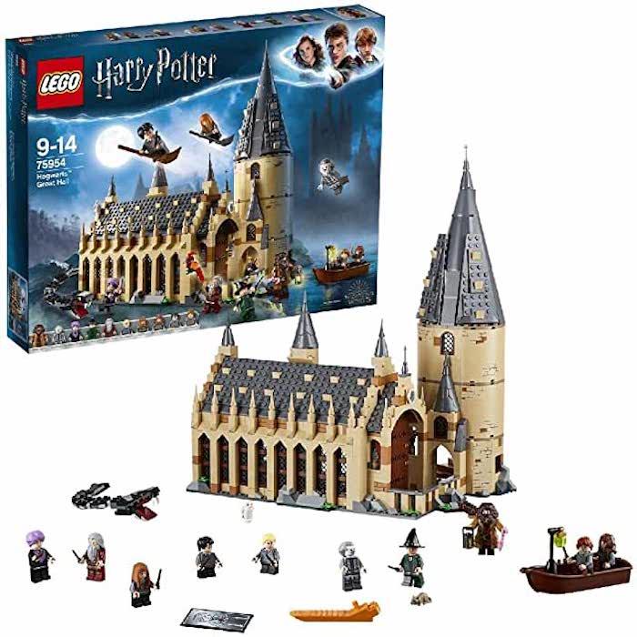 lego castello hogwarts
